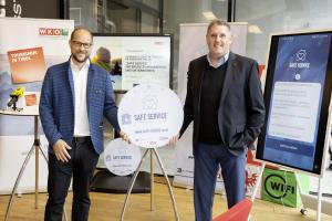 Präsentation der SAFE SERVICE Initiative von Mario Gerber & Dieter Duftner