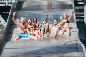 Spaß und Action gibt es bei einem Besuch der Water Area in der Area 47.