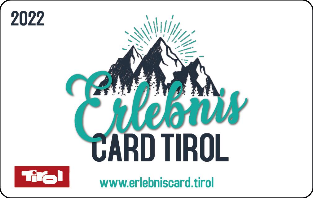 So wird die ErlebnisCard Tirol 2022 für Erwachsene aussehen.
